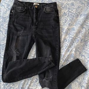 Black ripped jeans FOREVER 21